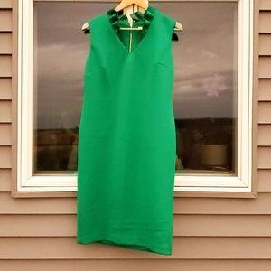 Calvin Klein Green Scuba Dress 12